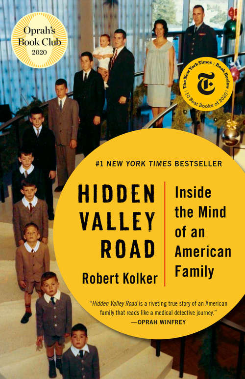Collection sample book cover Hidden Valley Road: Inside the Mind of an American Family