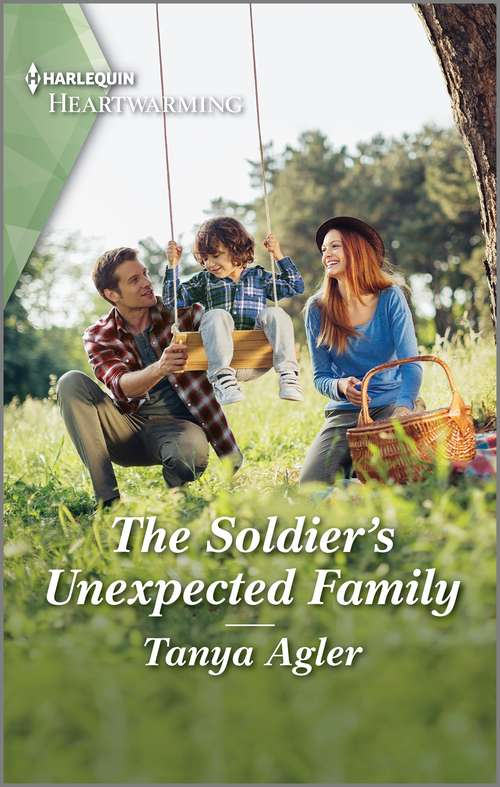 The Soldier's Unexpected Family: A Clean Romance (Veterans' Road Ser. #3)