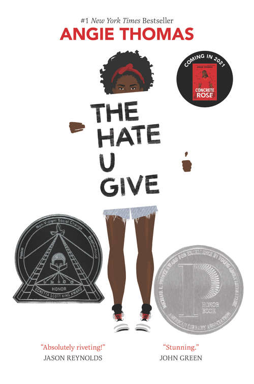 Collection sample book cover The Hate U Give by Angie Thomas