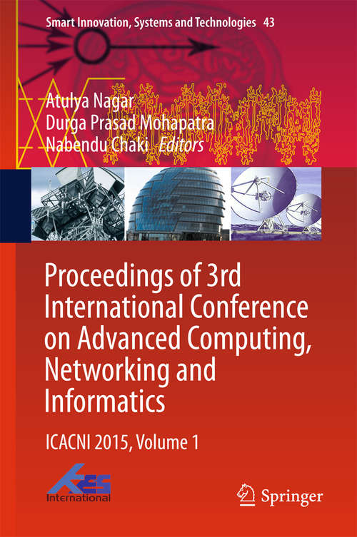 Proceedings of 3rd International Conference on Advanced Computing, Networking and Informatics