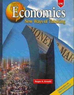 Economics: New Ways Of Thinking