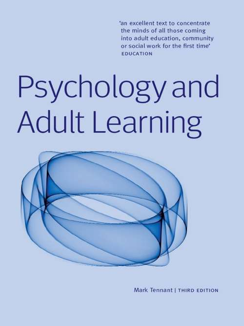 psychology of adult learning