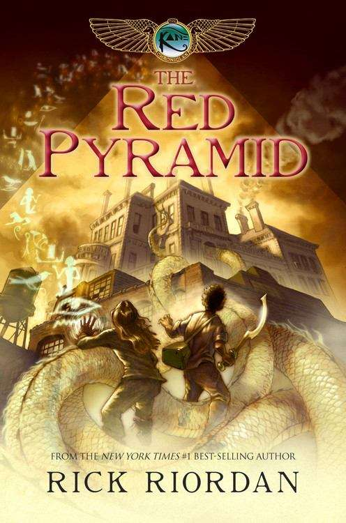 Collection sample book cover The Red Pyramid