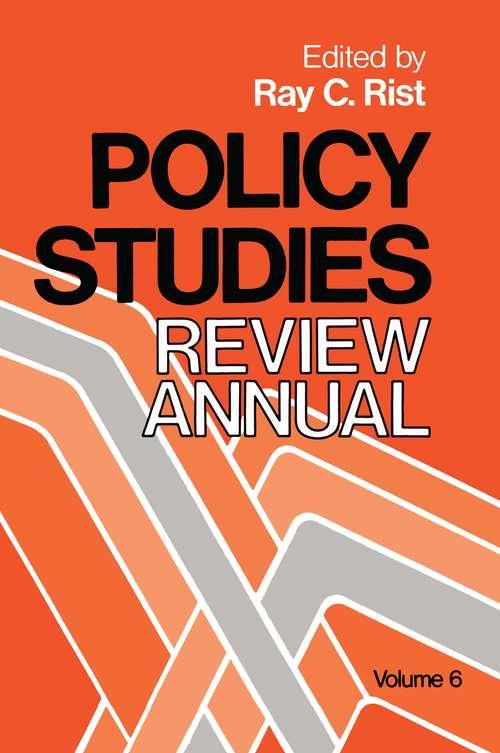 Policy Studies: Volume 6