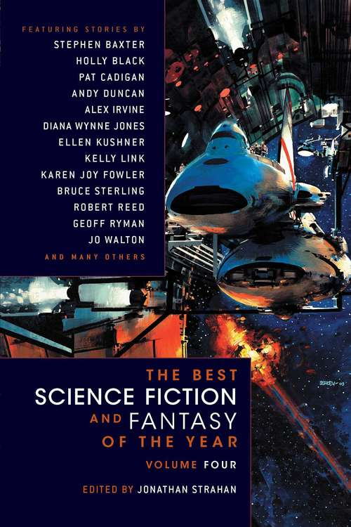 The Best Science Fiction and Fantasy of the Year #4