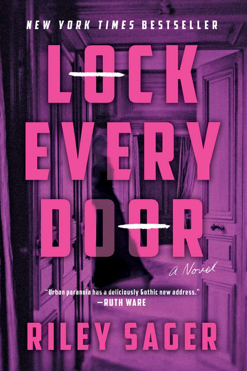 Collection sample book cover Lock Every Door by Riley Sager