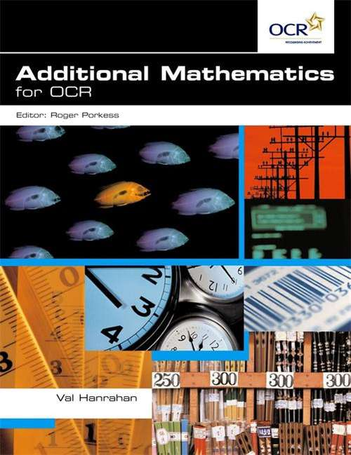 Additional Mathematics for OCR (PDF) | UK education collection