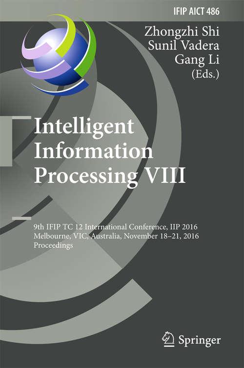 Intelligent Information Processing VIII