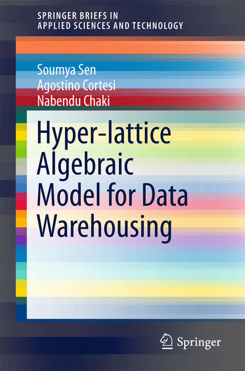 Hyper-lattice Algebraic Model for Data Warehousing