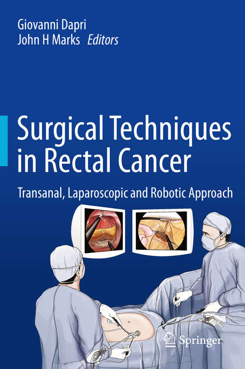 Surgical Techniques in Rectal Cancer