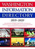 Washington Information Directory 2019-2020