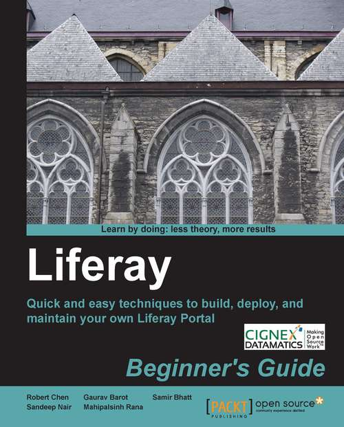 Liferay Beginner's Guide