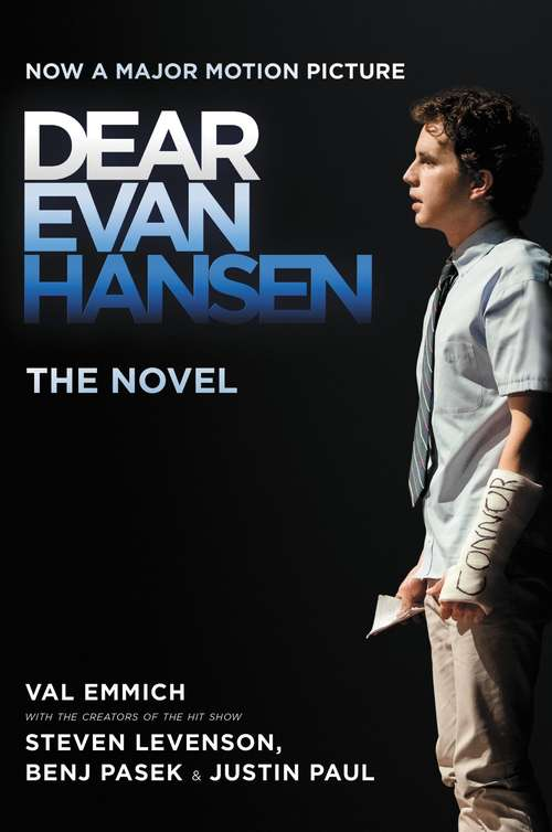 Collection sample book cover Dear Evan Hansen by Val Emmich with Steven Levenson, Benj Pasek, Justin Paul