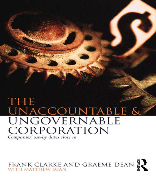 The Unaccountable & Ungovernable Corporation: Companies' use-by-dates close in