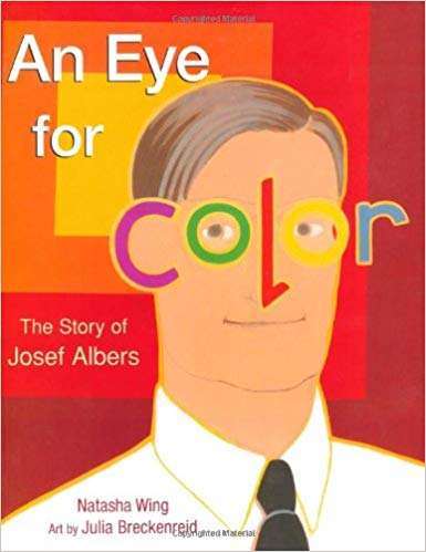 Collection sample book cover An Eye for Color