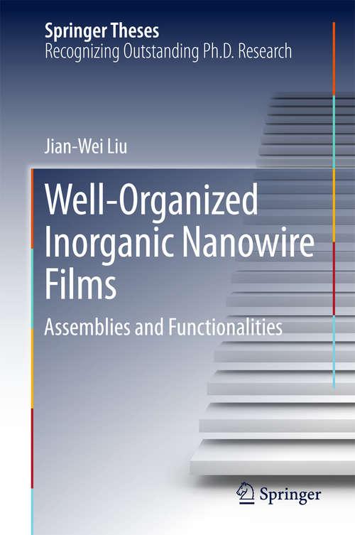 Well-Organized Inorganic Nanowire Films