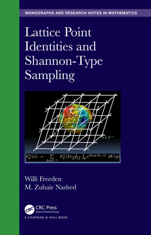 Lattice Point Identities and Shannon-Type Sampling (Chapman & Hall/CRC Monographs and Research Notes in Mathematics)