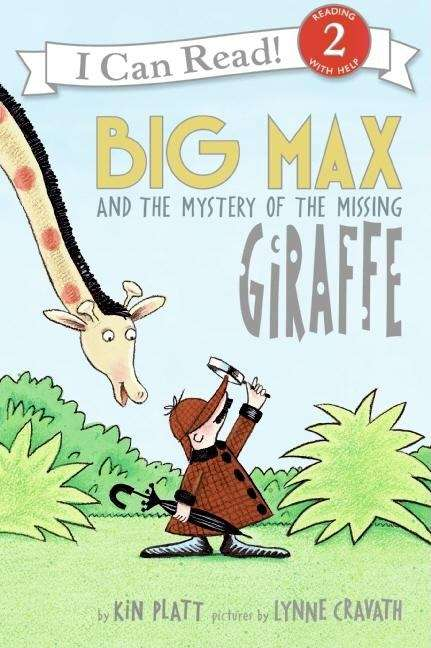 Collection sample book cover Big Max and the Mystery of the Missing Giraffe