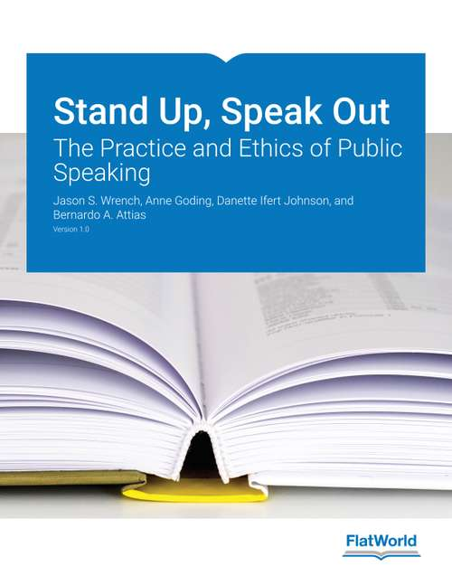Stand Up, Speak Out by Jason Wrench, Anne Goding, Danette Johnson, Bernardo Attias