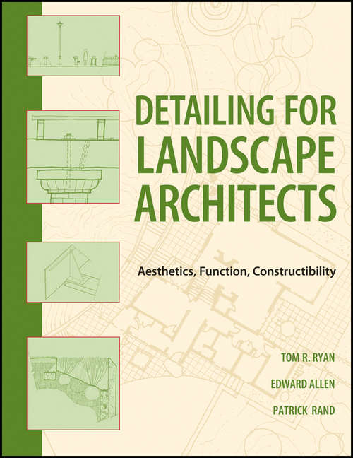 Landscape Architectural Detailing