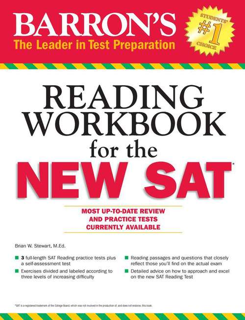 Barron's: Reading Workbook For The New SAT