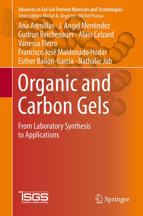 Organic and Carbon Gels: From Laboratory Synthesis to Applications (Advances in Sol-Gel Derived Materials and Technologies)