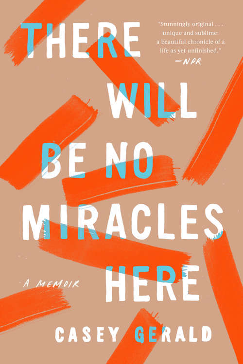 Collection sample book cover There will be no miracles here by Casey Gerald