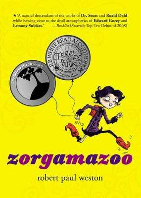 Collection sample book cover Zorgamazoo by Robert Paul Weston