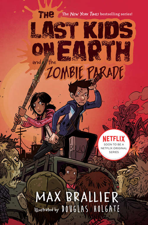 Collection sample book cover The Last Kids on Earth and the Zombie Parade