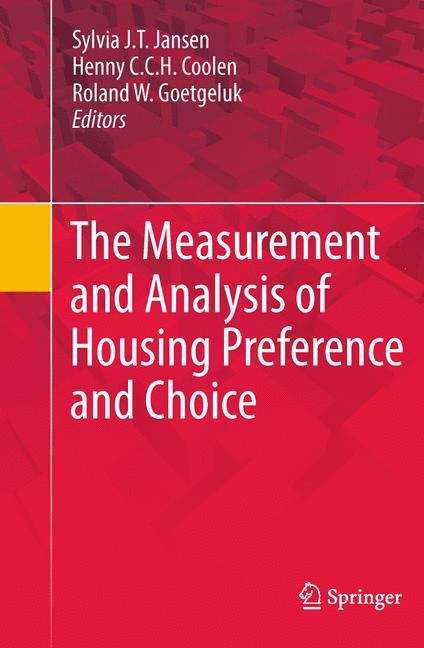 The Measurement and Analysis of Housing Preference and Choice