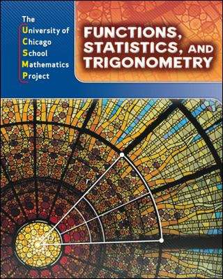 Functions, Statistics, and Trigonometry (The University of Chicago