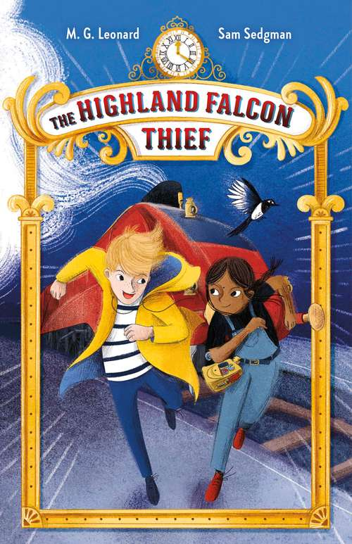 The Highland Falcon Thief: Adventures on Trains #1 (Adventures on Trains #1)