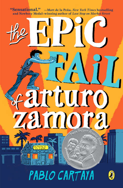Collection sample book cover The Epic Fail of Arturo Zamora