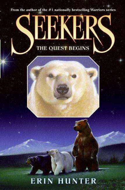 Collection sample book cover Seekers #1: The Quest Begins, three bears walking