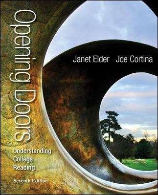 Opening Doors: Understanding College Reading , Seventh Edition