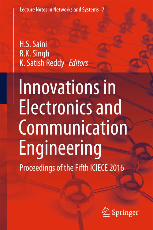 Innovations in Electronics and Communication Engineering