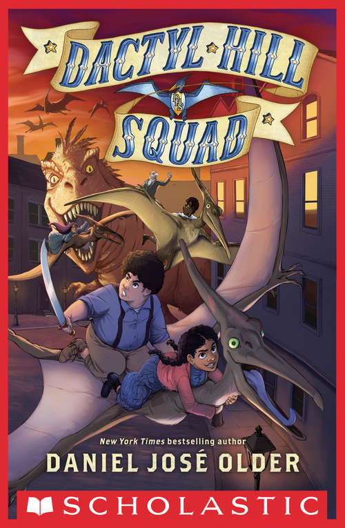 Collection sample book cover Dactyl Hill Squad #1 by Daniel Jose Older