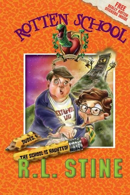 Rotten School #7: Dudes, the School Is Haunted!