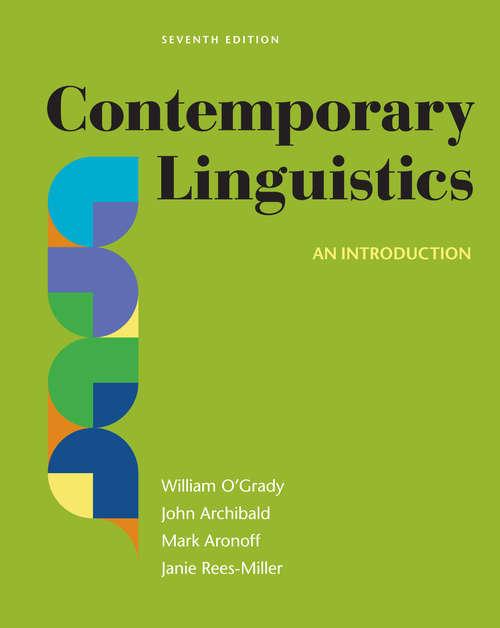Contemporary Linguistics Seventh Edition