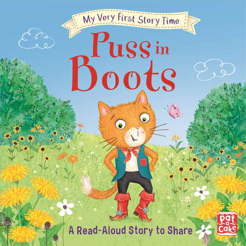 Puss in Boots: Fairy Tale with picture glossary and an activity (My Very First Story Time #12)