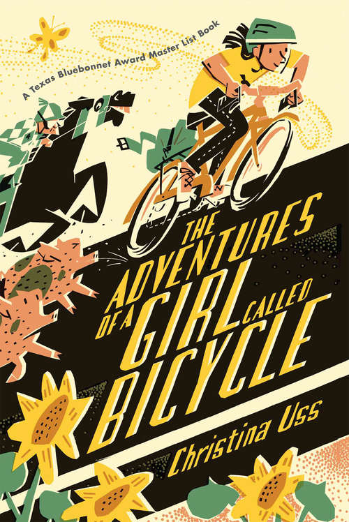 Collection sample book cover The Adventures of a Girl Called Bicycle by Christina Uss