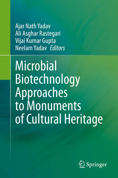 Microbial Biotechnology Approaches to Monuments of Cultural Heritage