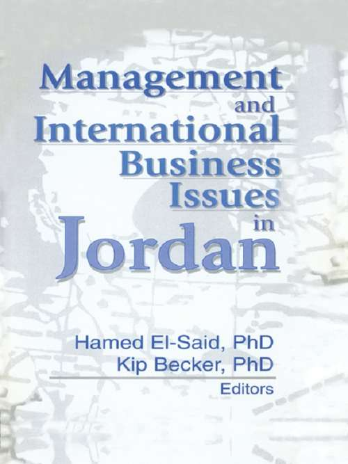 Management and International Business Issues in Jordan