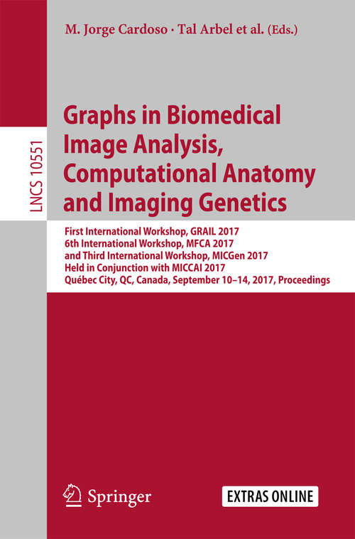 Graphs in Biomedical Image Analysis, Computational Anatomy and Imaging Genetics