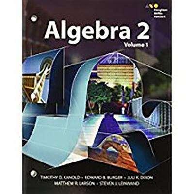 Algebra 2, Volume 1 | Bookshare
