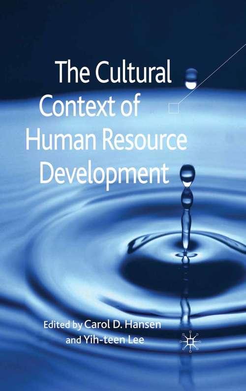 The Cultural Context of Human Resource Development