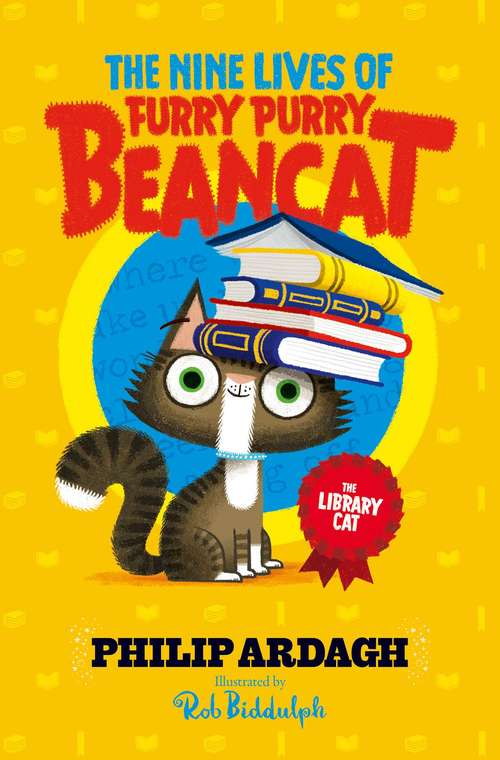 The Library Cat (The Nine Lives of Furry Purry Beancat #3)