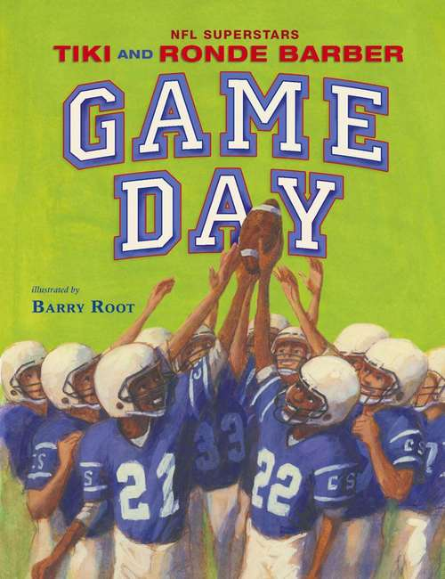 Collection sample book cover Game Day