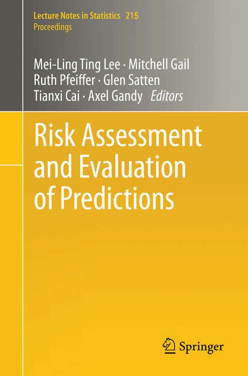 Risk Assessment and Evaluation of Predictions