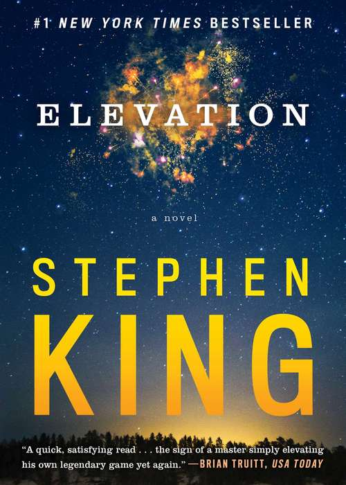 Collection sample book cover Elevation by Stephen King